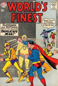 Superman Fan Podcast Episode #289 Part II: Superman Comic Book Cover Dated December 1959: World's Finest Comics #106! http://thesupermanfanpodcast.blogspot.com/2013/12/episode-289-part-ii-superman-comic-book.html