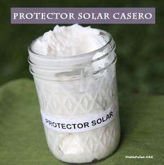 Protector solar casero y natural - Dieta Paleo Natural Makeup Looks, Natural Make Up, Natural Skin, Nice Makeup, Organic Makeup, Organic Beauty, Natural Beauty, Beauty Care, Diy Beauty