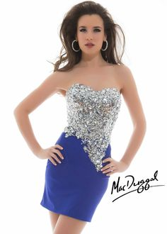 Fashion Embellished Strapless Sweetheart Dress by Mac Duggal Twelve - Cheap Discount Evening Gowns After Prom Dresses, Cheap Prom Dresses, Homecoming Dresses, Nice Dresses, Casual Dresses, Short Dresses, Fashion Dresses, Formal Dresses, Amazing Dresses