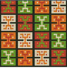 Resultado de imagen para gráfico fajon tipo wayuu
