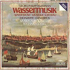 """Die """"Wassermusik"""" schrieb Telemann für die Hamburgische Admiralität.  """"Die Wassermusik Georg Philipp Telemanns ' der genaue Titel heißt Hamburger Ebb' und Flut ' wurde im Jahr 1723 aus Anlass der Feierlichkeiten zum 100-jährigen Bestehen der Hamburger Admiralität aufgeführt ..."""