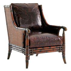 Tommy Bahama Las Palmas Leather Chair