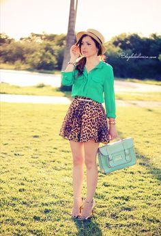 Verde + onça= LINDO