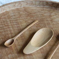 Pear Teaspoon in Teak by Warang Wayan