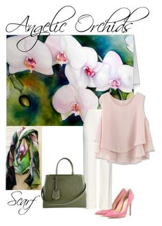 """Orchids Inspired"" by tina-gleave on Polyvore"