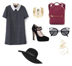 """Mall Day"" by katelynnjj ❤ liked on Polyvore featuring Kate Spade, Sophie Hulme, WithChic and Topshop"