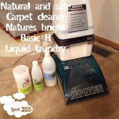 Natural and safe carpet cleaner