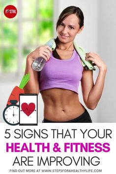 When it comes to how to improve your health & fitness level,the progress we often rely on the mirror or progress photos to measure how far we've come.But it can be hard to spot any physical changes:toned arms,firm bum or toned abs.But this doesn't mean you're not getting healthier, There are other ways to show really important signals to look for that show your fitness is improving and becoming fitter and healthier.Best tips,fitness motivation,home workouts,weightloss