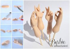 modelling tutorial #1: Hands - CakesDecor