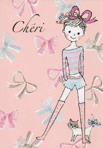 Shinzi Katoh Cheri Postcard