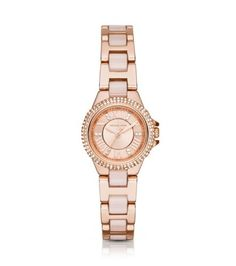 Petite Camille Rose Gold-Tone Watch   Michael Kors--- because they are all just too pretty!