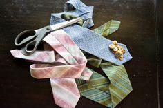 #DIY necktie bracelets - a new tie on the friendship bracelet