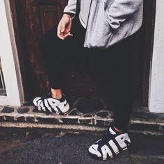 Infantil Elaborar Embajador  60+ mejores imágenes de Nike Air More Uptempo   zapatos, calzado nike,  calzas