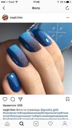 Univers Espace Galaxie Fabulous Nails, Perfect Nails, Gorgeous Nails, Fancy Nails, Trendy Nails, Toe Nail Color, Nail Colors, Nail Deco, Dipped Nails