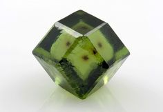 Demantoid garnet from Italy