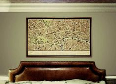 Legendary explorers and cartographers such as Joan Blaeu & Captain James Cook, were a great inspiration for the hand drawn vintage but modern old London map Old Maps Of London, Vintage London, Old London, Map Canvas, Canvas Prints, Art Prints, London Wall, Wall Maps, Paper Dimensions