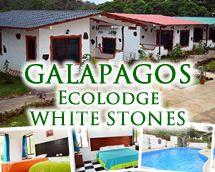 Galapagos Ecolodge White Stones #Galapagos #whitestones #ecolodge