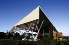 Sustainable Buildings Research Centre (SBRC) - University of Wollongong by COX Richardson / Sustainable Architecture - Milo Dunphy Award Educational Architecture - Commendation / Photography: John Gollings