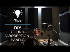 DIY Sound Absorption Panels - YouTube Bass Trap, Sound Absorption, Diffuser, Studio, Youtube, Diy, Bricolage, Studios, Do It Yourself