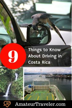 9 Things to Know About Driving in Costa Rica #costarica #roadtrip #travel