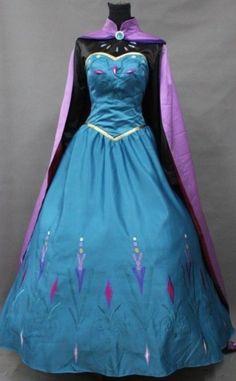 Šaty Elsa začiatok