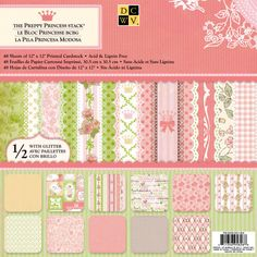 <div>A pastel color palette, complete with polka dots, bows and flowers makes this the ultimate ...