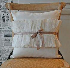 Shabby Chic Decoration Pillow -