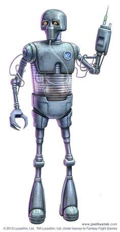 Age of Rebellion - Medical Droid by joelhustak.deviantart.com on @deviantART