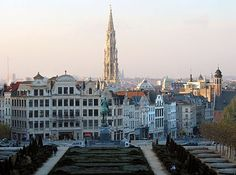 Belgium (i/ˈbɛldʒəm/ bel-jəm; Dutch: België; French: Belgique; German: Belgien), officially the Kingdom of Belgium, is a federal monarchy in Western Europe. It is a founding member of the European Union and hosts the EU's headquarters as well as those of several other major international organisations such as NATO. Brussels, the capital city and largest metropolitan area of Belgium