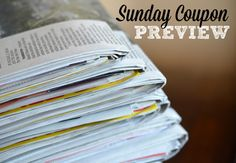 Sunday Coupon Preview, February 26