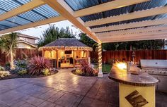 The Buckingham   Outdoor Dining Room & Luxury Gazebo   Kensington Garden Rooms