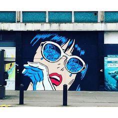 Work and snap by @richsimmonsart in Croydon, London ▪️#streetart #graffiti #london |5|