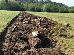 """Come nasce un nuovo vigneto? Preparazione del terreno: macinatura dell'erba che interrata dara' sostanza organica naturale. Vigneto Le Manzane """"Calpena"""""""