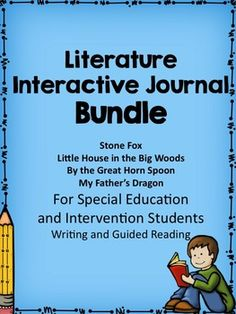 40% Savings when you purchase this bundle of my special education interactive literature units. The bundle includes guided reading lessons, and writing frames for students to summarize each chapter of these favorite literature books.