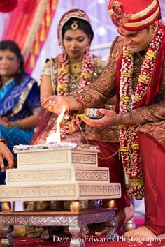 indian wedding bride groom ceremony traditions http://maharaniweddings.com/gallery/photo/11350