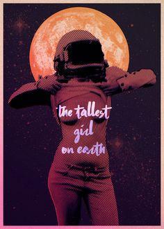 The Tallest Girl on Earth - Poster on Behance