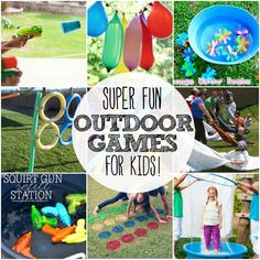Super Fun Outdoor Games For Kids