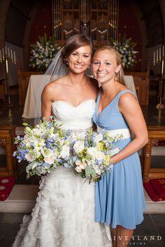 Bridal Bouquet. August 28, 2013, St John's Episcopal Church, Wilmington, NC. Riverland Studios Photography. Design Perfection Weddings