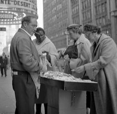 Selling Jewelry  ca 1954