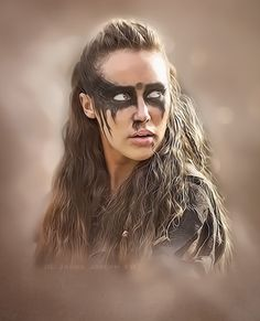 Lexa #the100 #alycia #lexa