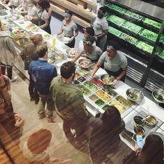 My #favorite new place: #sweetgreen! #saladheaven #yummy #veggies #localfarms