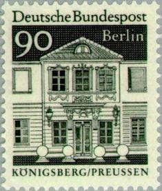 Stamp: Zschokke Ladies cathedral chapter, Königsberg (Berlin) (German buildings from 12 centuries (large format)) Mi:DE-BE 281,Sn:DE 9N246,Yt:DE-BE 249,Sg:DE-BE B255,AFA:DE-BE 296