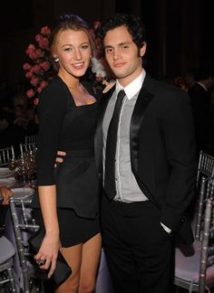 Blake Lively and Penn Badgley split. No worries, there's more incestuous fooling around to be had on the Gossip Girl set.  Another celebrity couple breakup... Dumped.