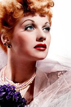 Lucille Ball (1911–1989) One of the most popular & influential stars in America.  During her lifetime, she had one of Hollywood's longest careers, especially on television. Ball's film career spanned the 1930s & 1940s, and she became a television star during the 1950s. She continued making films in the 1960s & 1970s.