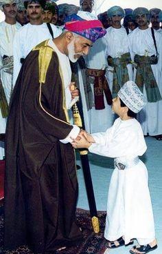 His Majesty Sultan Qaboos bin Said Al Said, Sultan of Oman.