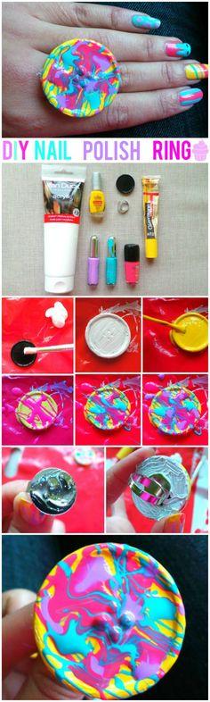Irresistible DIY Idea {Knuckle Rings}