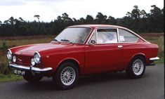 Fiat 850 Sport Coupe; the car of my dreams.