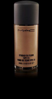 Studio Fix Fluid SPF 15 (Shades: NC/NW 35, NC 37, NC/NW 40, NW 43, NC 44,NC/NW 45 NC/NW 50, NC/NW 55- $27