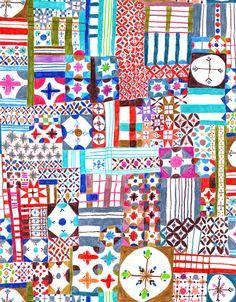 patterns - walkyland  #doodle