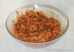 Torta fredda con Kamut soffiato, cioccolato e burro d'arachidi | Vica in cucina